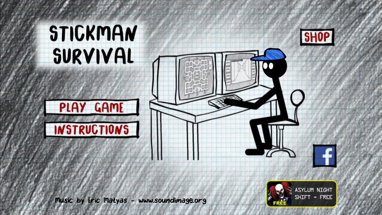 Stickman Five Nights Survival 2