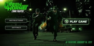 The Green Hornet Crime Fighter