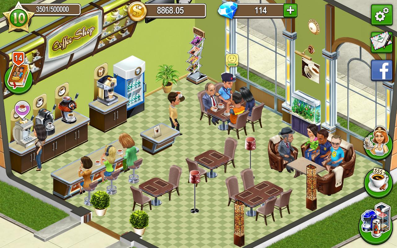 Игра кофейня бизнес симулятор кафе рецепты