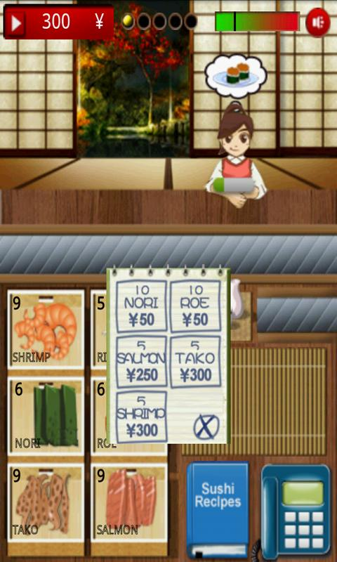 Free sushi games online