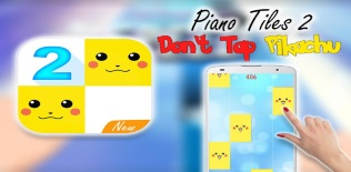 Piano tiles-don't tap pikachu