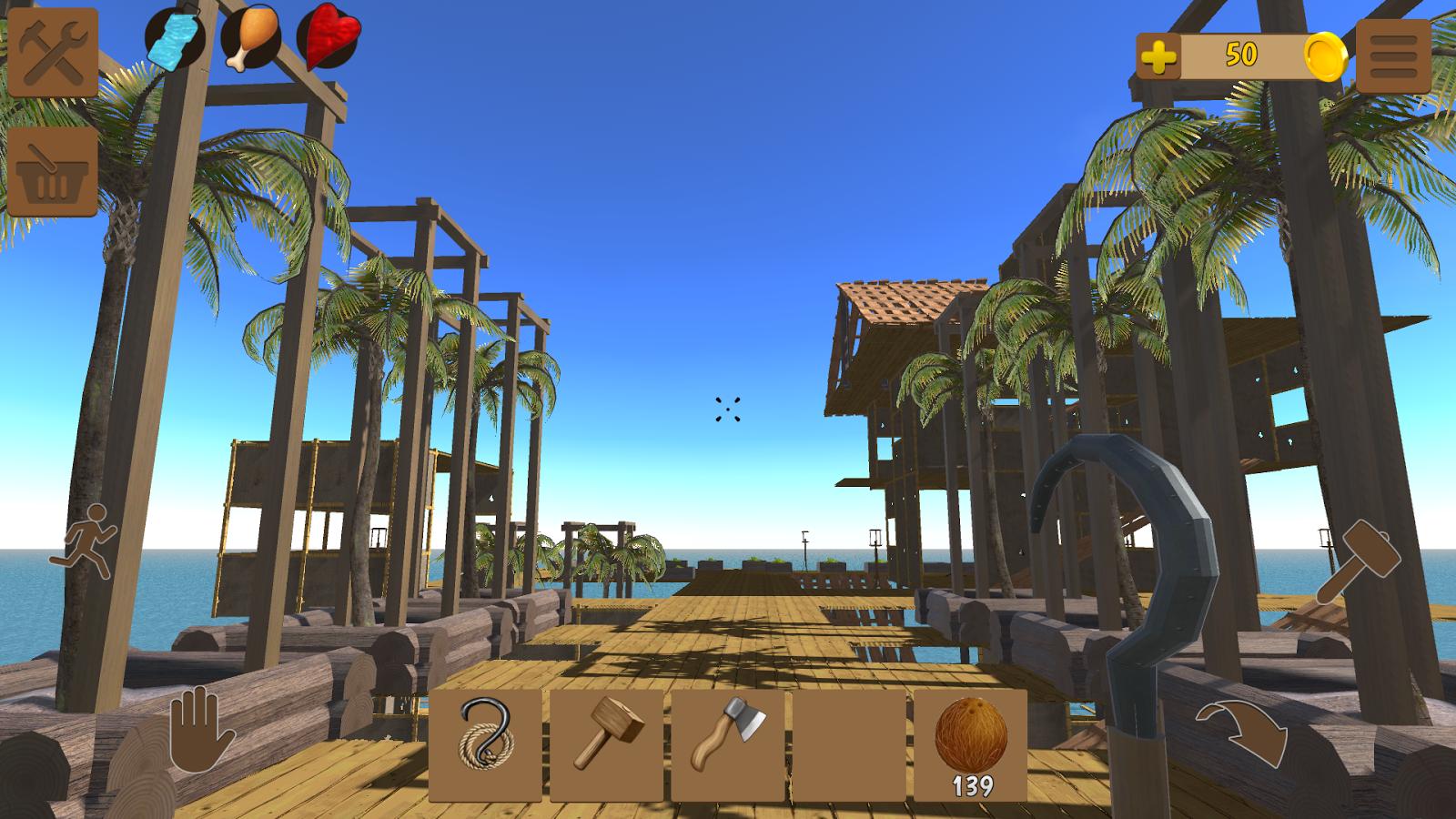 Скачать игру Oceanborn: Raft Survival для андроид