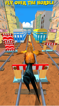VR Subway Rooster Run Endless Adventure Game