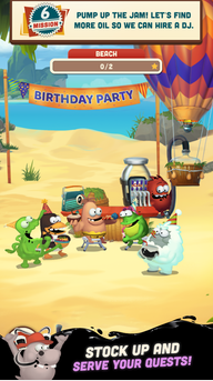 Oil Hunt 2 - Birthday Party