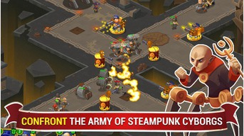 Steampunk Syndicate 2 Tower Defense Game