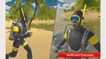 Scuba Deep Sea Swim Simulator