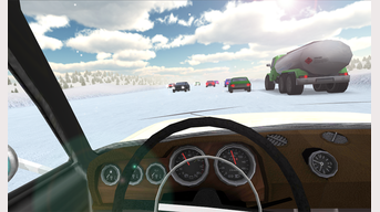 Russian cars driving simulator