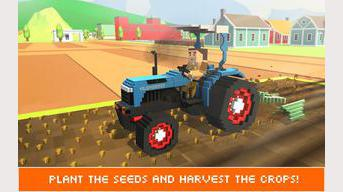 Blocky Farm Worker Simulator