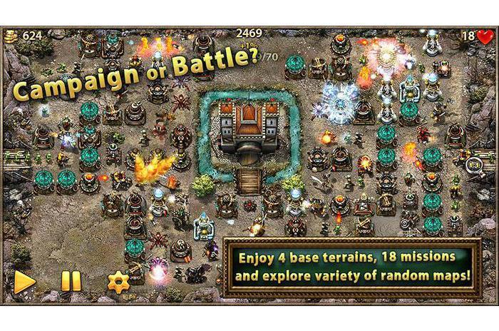Скриншоты android игры Myth Defense: Light Forces / Мифическая Оборона: Све