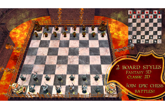 Скриншоты android игры War Of Chess / Война Шахмат.