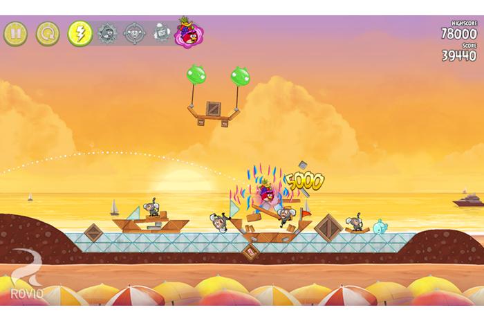 Скриншоты android игры Angry Birds: Rio / Злые Птицы: Рио.