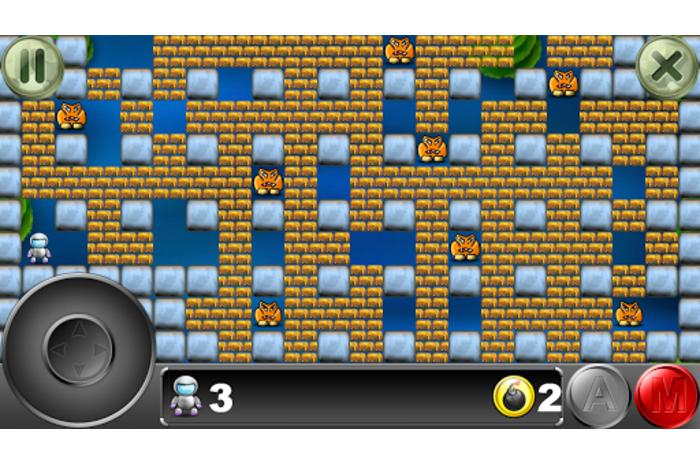 Бомбер: классика в новом исполнении! Видео. В новой игре Бомбер у тебя ес